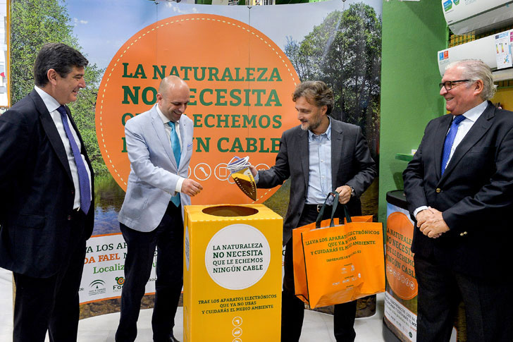 Consejero de Medio Ambiente y Ordenación del Territorio, José Fiscal.