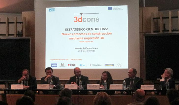 Inauguración 3DCONS.