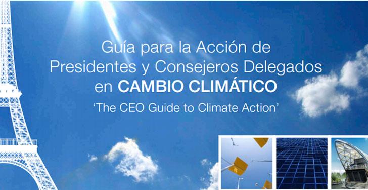 Guía para la Acción de Presidentes y Consejeros contra el cambio climático.