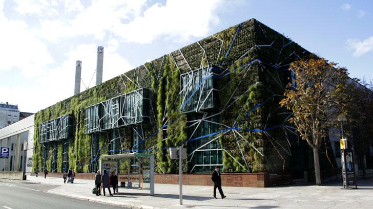 Un jard n vertical con especies aut ctonas en vitoria for Ciudad jardin vitoria