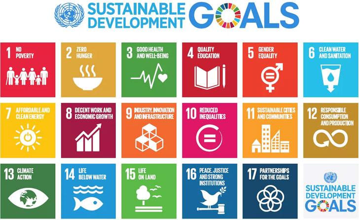 Objetivos de la agenda 2030 de la ONU.