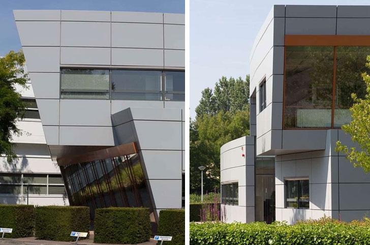 Edificio con RENOLIT REFACE en la fachada.