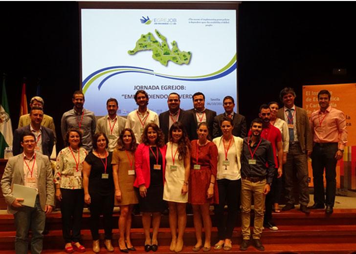 Participantes del Proyecto Egrejob.