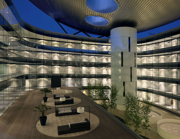 Iluminación del Hospital.