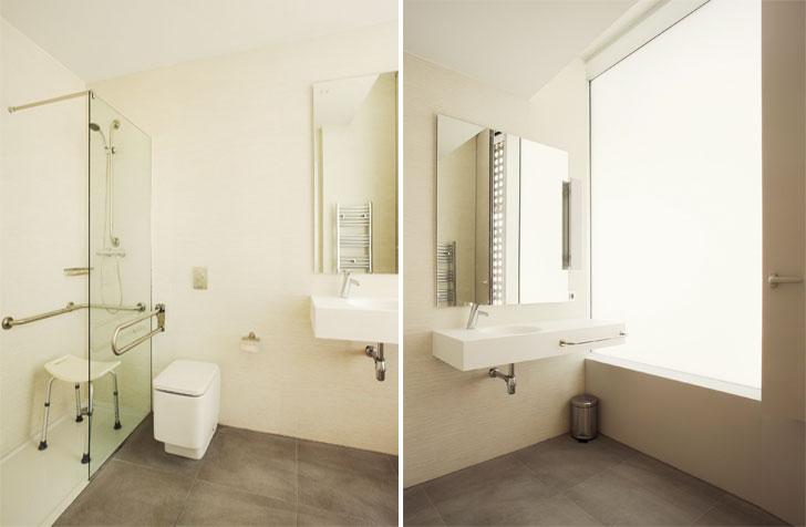 Iluminación baño con Clinic Gas.