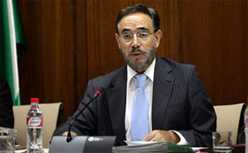 Felipe López, consejero de Fomento y Vivienda de Andalucía.