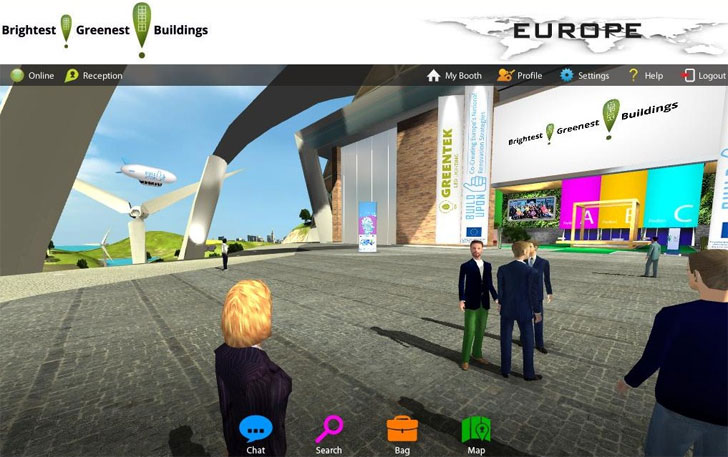 Plataforma virtual  Brightest! Greenest! Buildings EUROPE.