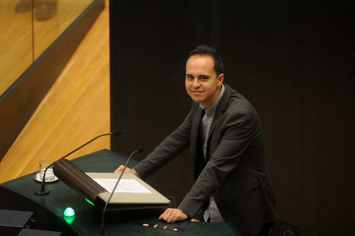 José Manuel Calvo, delegado del Área Desarrollo de Urbanismo Sostenible.