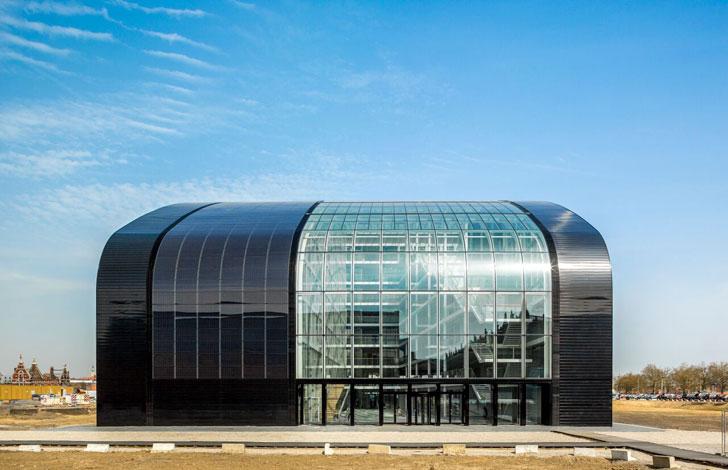 Nueva sede de la Agencia de Medioambiente de Bruselas.