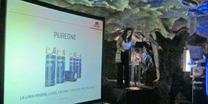 URSA presenta en España la primera lana mineral blanca del mercado