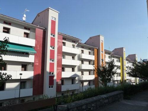 Edificios que se acogen a la rehabilitación integral.