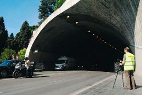 Túnel de la Alcazaba de Málaga.