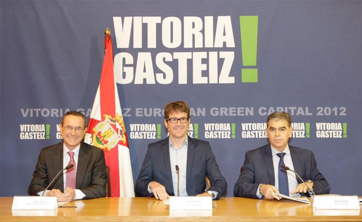 El Ayuntamiento y Gobierno Vasco fijan el programa de regeneración urbana de Coronación.