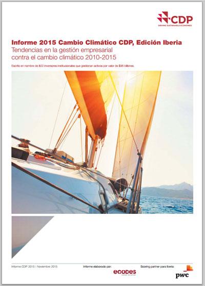Informe CDP Cambio Climático.