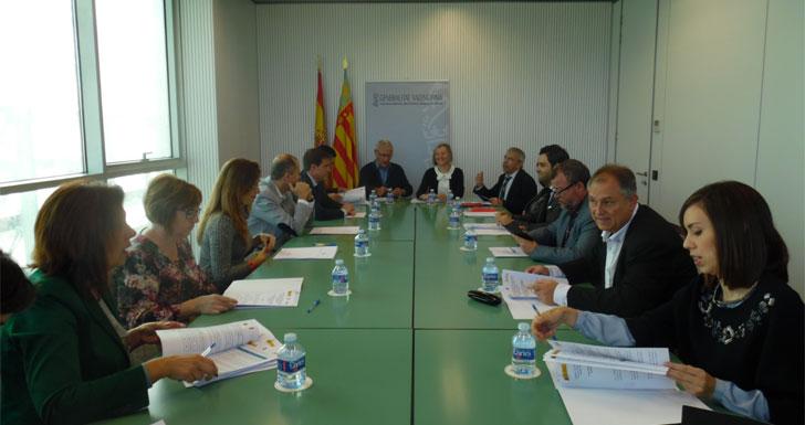 Reunión de la Conselleria de Vivienda.