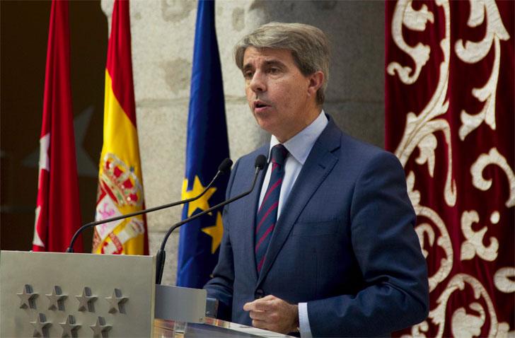 Ángel Garrido, consejero de Presidencia, Justicia y Portavoz del Gobierno regional.
