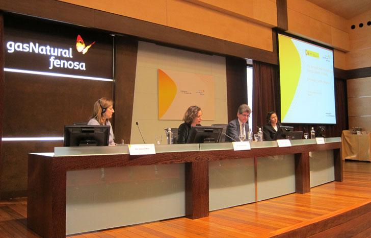 Primera mesa de ponencias del Seminario.
