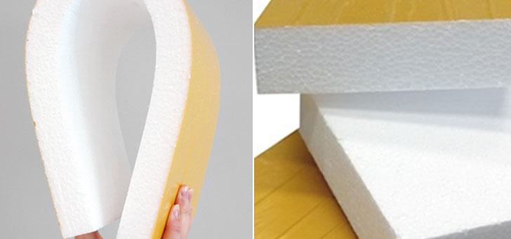 Nuevo poliestireno expandido para cerámica.