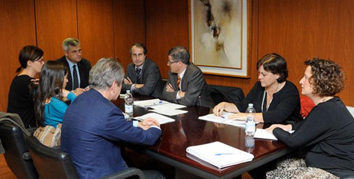 Reunión entre la URJC y Móstoles sobre sostenibilidad energética.
