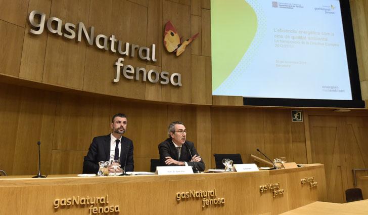 Seminario sobre eficiencia energética y la reducción de emisiones.