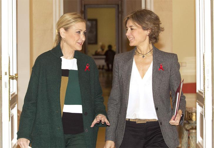 Cristina Cifuentes e  Isabel García Tejerina.