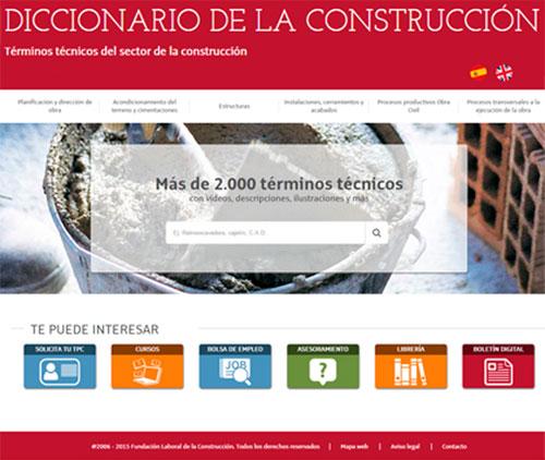 Diccionario online de Fundación Laboral.