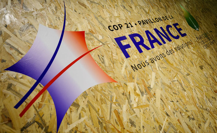 Francia en la COP21.