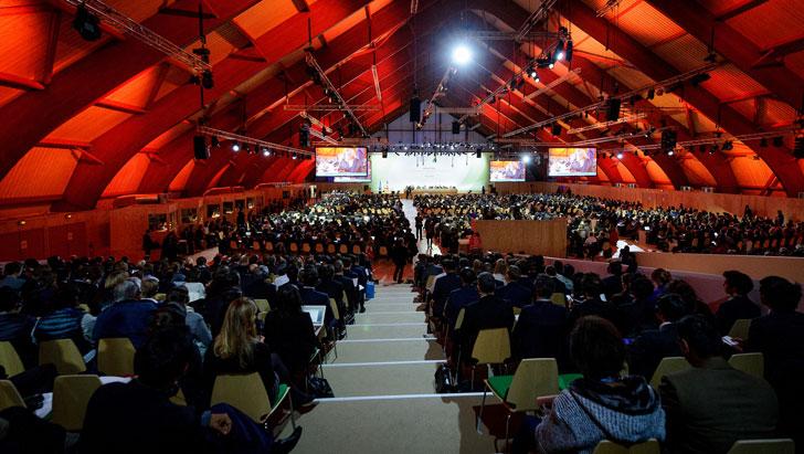 Países participantes en la COP21.