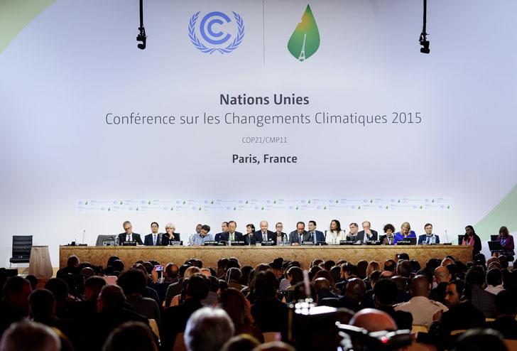 COP21 durante su desarrollo.
