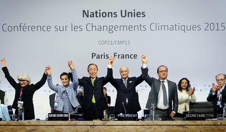 195 países llegan al acuerdo.