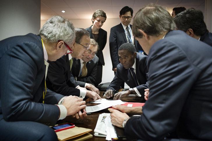 Negociaciones del acuerdo.
