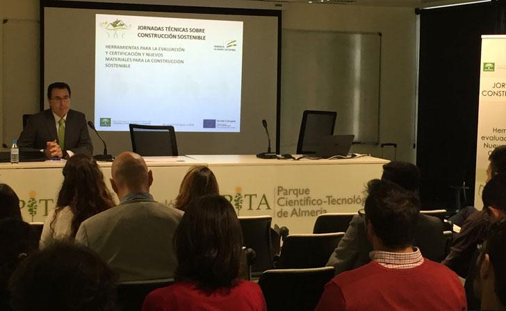 Jornada de presentación de nuevos materiales de construcción sostenible.