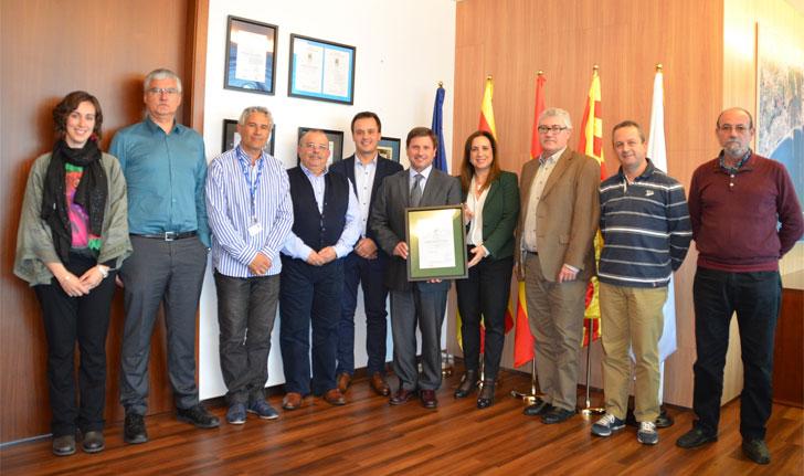 El Puerto de Tarragona recibe el certificado ISO 50001.