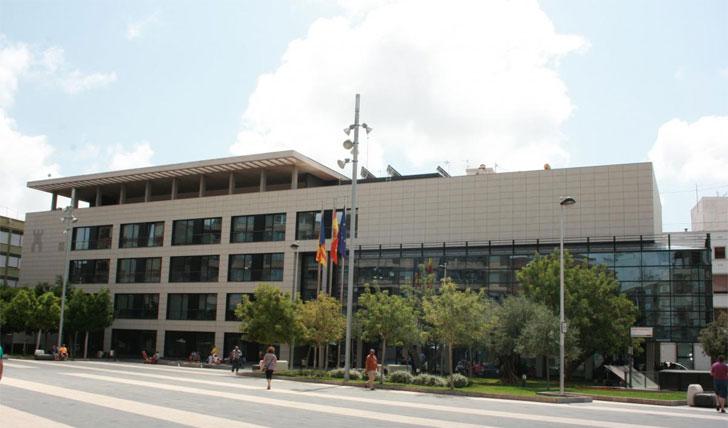 Edificio público de Almassora que ahorrará energéticamente.