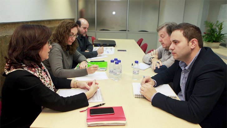 Reunión entre la Consellería de Vivienda y el Ayuntamiento de Castellón.