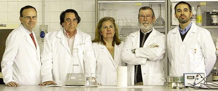 Equipo de investigación de la Universidad de Extremadura.