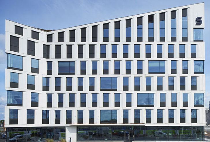 Edificio diseñado en el proyecto europeo Buildsmart.
