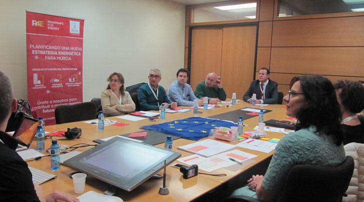 Segundo taller del proyecto Roadmaps for energy.