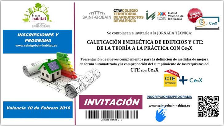 Cartel de la jornada sobre el complemento CE3X.