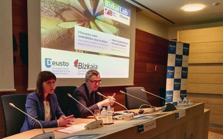 Presentación del estudio de Deusto y la Diputación de Bizkaia.