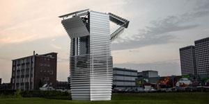 Smog Free Tower, la torre que purifica el aire de las ciudades