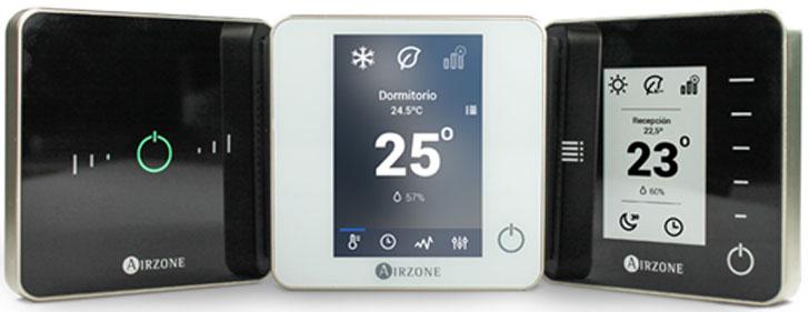 Sexta gama de termostatos de Airzone.
