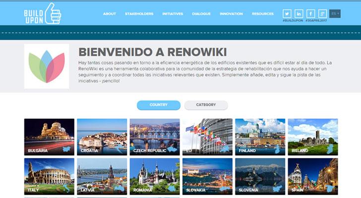 Renowiki dentro del proyecto Build Upon.