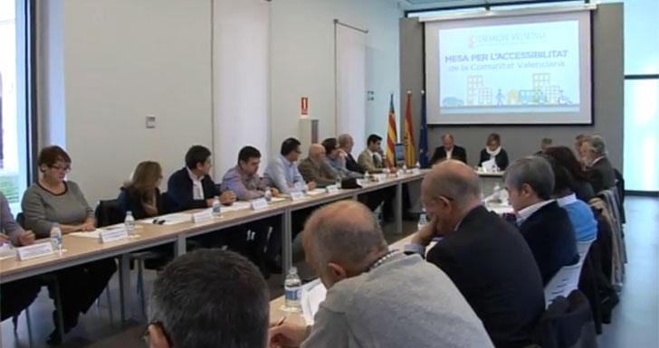 Mesa por la Accesibilidad de Valencia.
