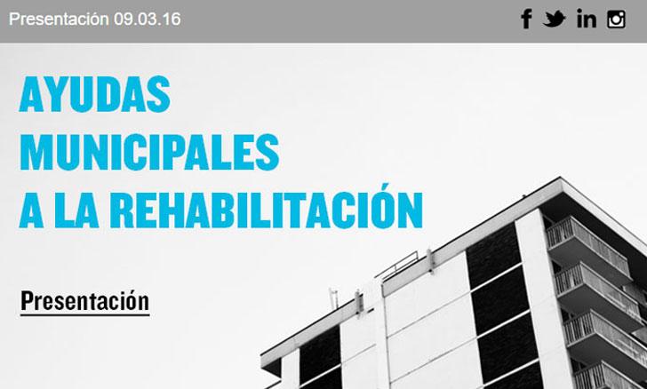 Nuevas ayudas a la rehabilitación en Madrid.