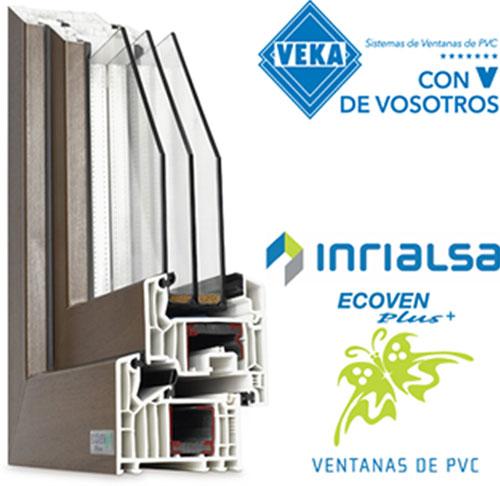 Ventana de PVC certificada Passivhaus.