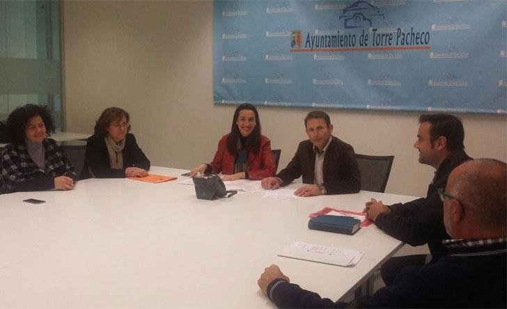 Reunión para el ARRU de Torre Pacheco.