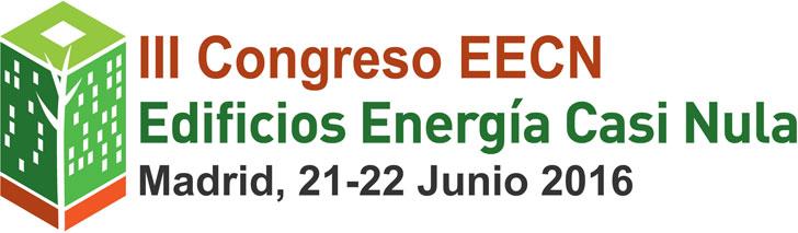 Logo III Congreso Edificios Energía Casi Nula.