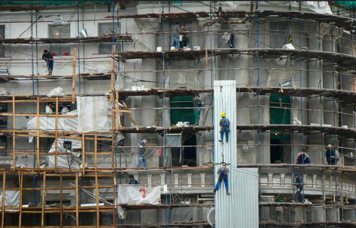 Rehabilitación de edificios.