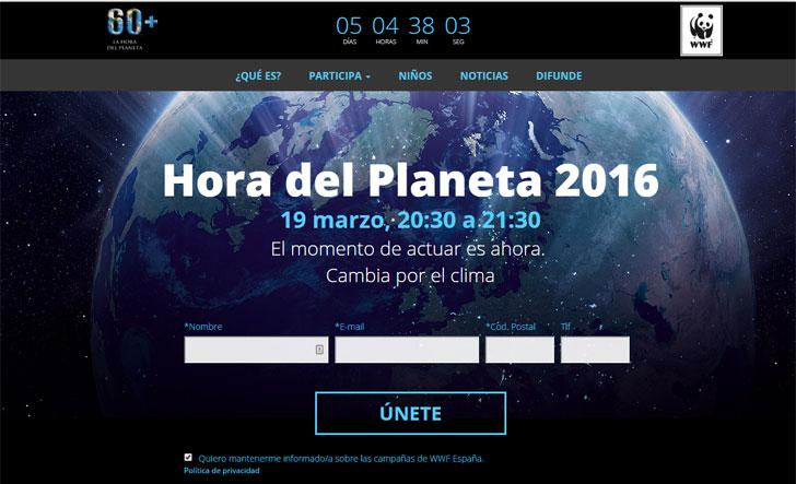 Hora del Planeta de WWF.